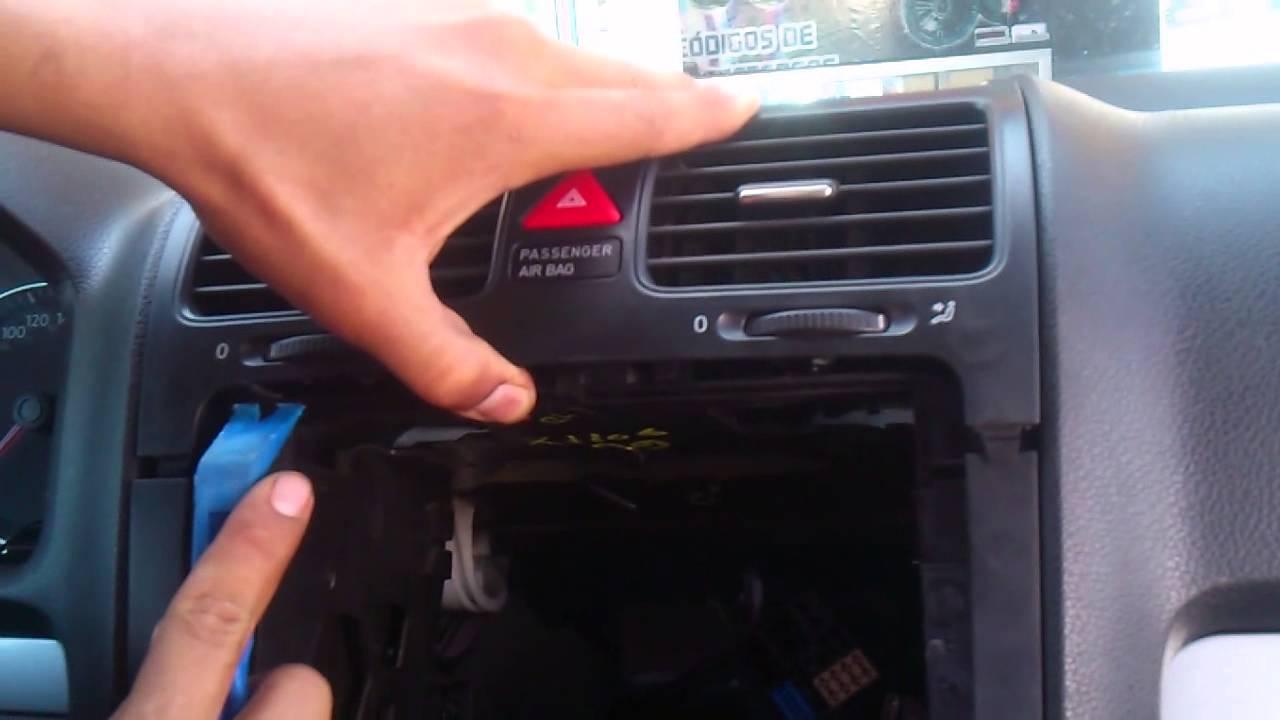 Desmontar Estereo How To Remove Radio Bora Rabbit 2004