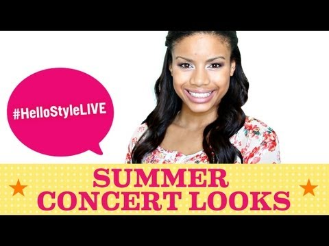 Beauty Looks for Summer Concerts | #HelloStyleLIVE, July 22