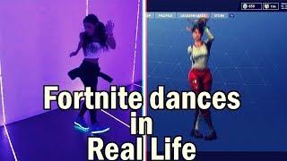 FORTNITE's BALLS in REAL LIFE- Fortnite Dances in Real Life