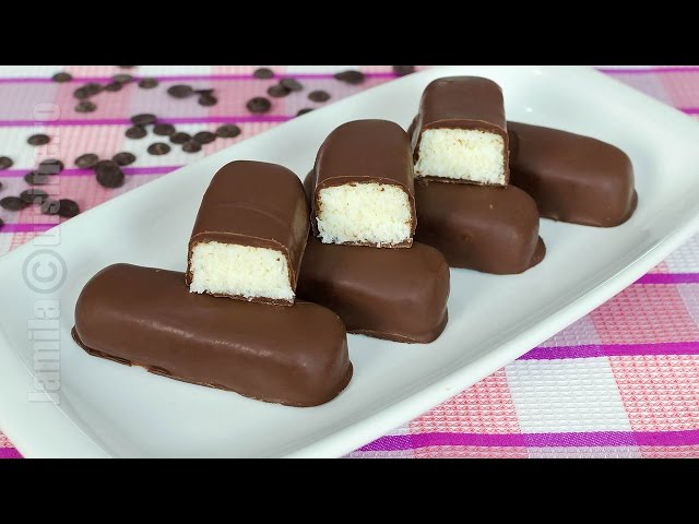 Batoane Bounty de casa | Bounty Chocolate Bars (CC Eng Sub) | JamilaCuisine