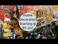 Cheapest Diwali Decoration items, whole sale price| Sadar Bazar | Delhi