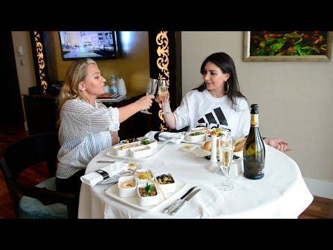Otelde super vaxt kechirtdik | Gunel & Aynur - Pullman Baku Hotel