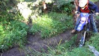 I hate this f#@king trail!  Hilarious dirt bike mayhem..Must see end!