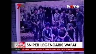 Kabar Petang - Sniper Legendaris Wafat, Tatang Koswara Peringkat 14 Sniper Dunia