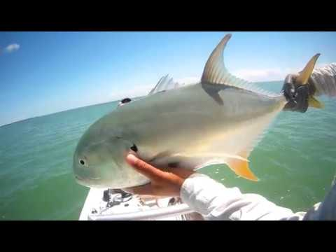 Cuba Shallow Water Fishing -  Crevalle Jack