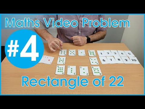 Maths Video Problem 4: Cards in a Rectangle