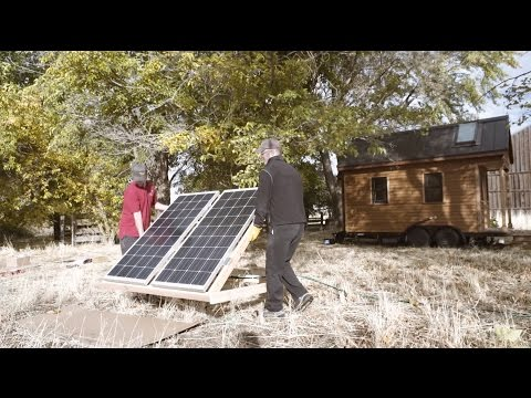 Installing Solar on a Tiny Home