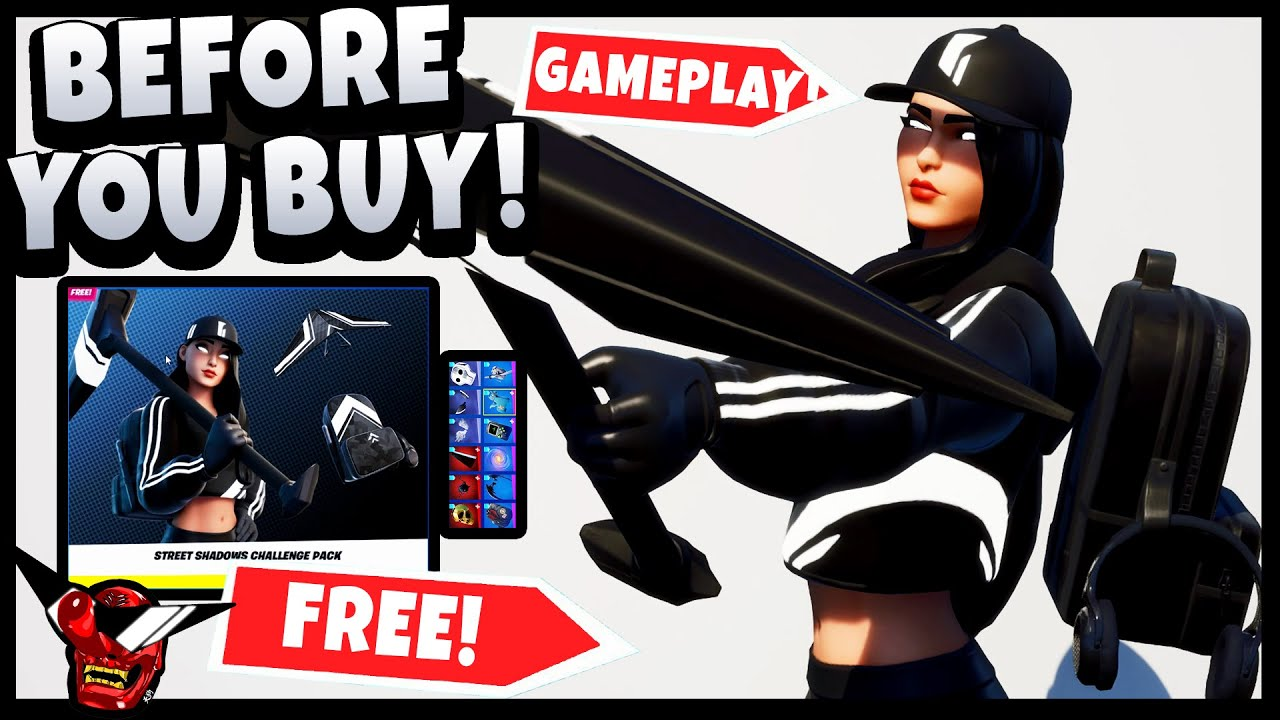 Download *FREE* RUBY SHADOWS   Best Combos   Gameplay   Before You Buy   Fortnite (Street Shadows Pack)