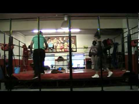 John Roodt at Rupert Van Aswegen,s Boxing Fitness in Boksburg on 15/11/2013