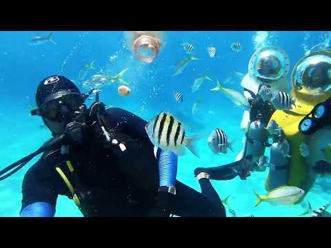 Underwater sub adventure