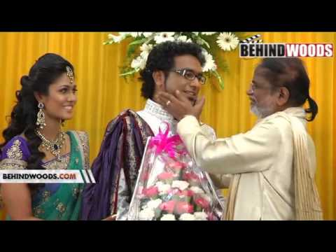 HARICHARAN WEDDING RECEPTION PART 1 - BEHINDWOODS.COM
