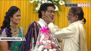 HARICHARAN WEDDING RECEPTION PART 1 - BEHINDWOODS.COM