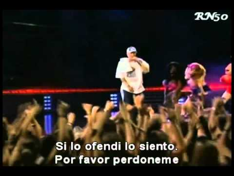 Ass like that + Mockingbird - Eminem - Live (Subtitulado al español)