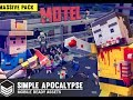 Unity Asset Store Pack - Minecraft style Zombie Apocalypse models and texture (Download link below)