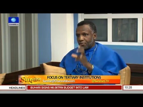 Sunrise: Analysts Focus On Tertiary Institutions Pt 2