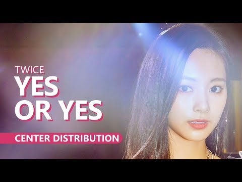 TWICE 韸胳檧鞚挫姢 - YES OR YES | Center Distribution