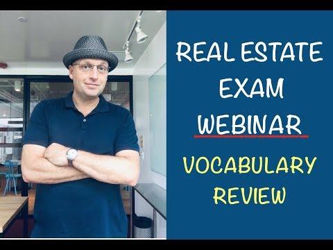 real-estate-exam-vocabulary-review-1/26/19