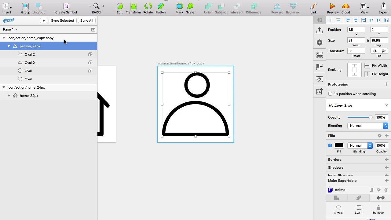 How I Manage My Icons In Sketch  – Part 1  – Insanity