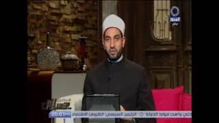 بالفيديو.. سالم عبد الجليل يوضح الفرق بين النبى والرسول