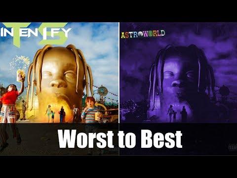 """Worst to Best - Travis Scott """"ASTROWORLD"""" Ranked Mp3"""