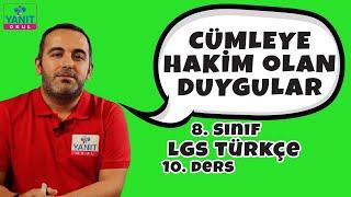 Cümleye Hakim Olan Duygular | 2021 LGS Türkçe Konu Anlatımları #8trkc