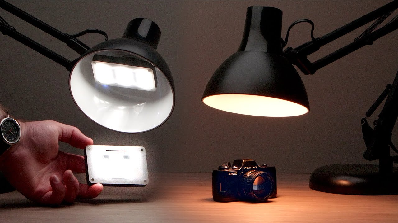 Video LED Lamp Hack! Turn Any Lamp Into a LED Video Ascent Light