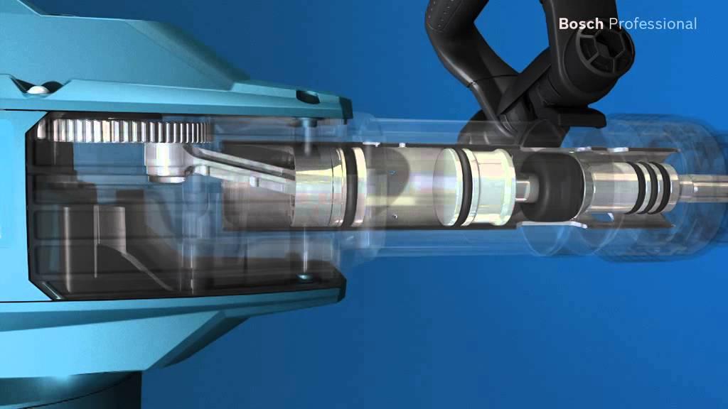 bosch gsh 11 vc professional demolition hammer with sds max youtube. Black Bedroom Furniture Sets. Home Design Ideas