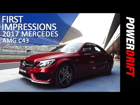 2017 AMG C43 : Mercedes-Benz's iPhone 5c : PowerDrift