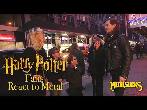 Harry Potter Fans React to Heavy Metal | MetalSucks