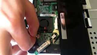 Asus Eee PC 1005HA CMOS Battery Replacement