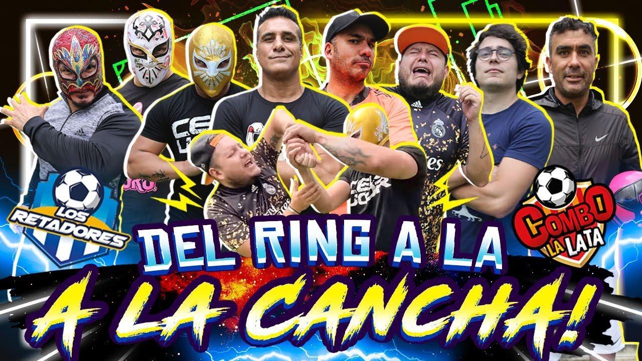 #LaReta Alberto del Rio, Cinta de Oro, Mistico, Dueñas y Hechicero VS Xuxo, Manu y Alex