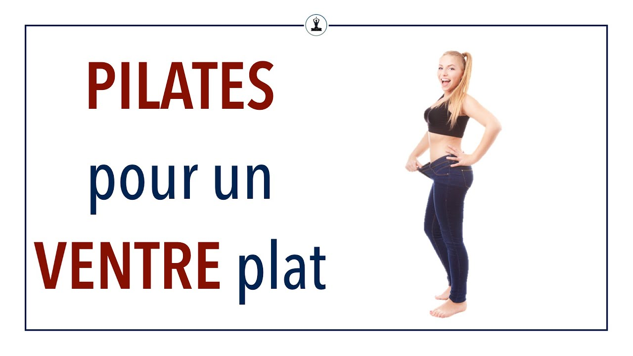 le pilates pour un ventre plat youtube. Black Bedroom Furniture Sets. Home Design Ideas