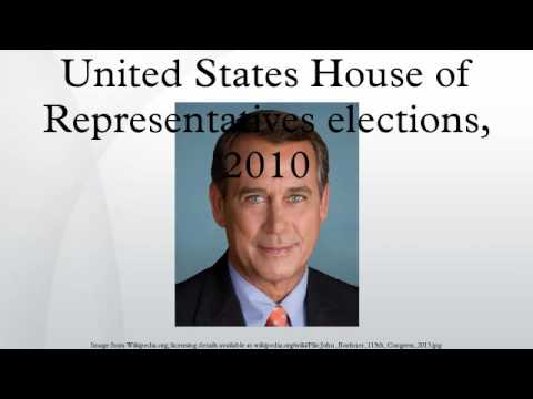 United States House of Representatives elections, 2010