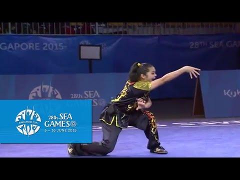 Wushu - Women's Optional Nanquan (Day 2) | 28th SEA Games Singapore 2015
