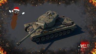 War Thunder : T30 - Новогодний Мистер Говняшка