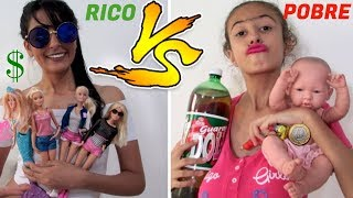 RICO VS POBRE  DIA DAS CRIANÇAS 3