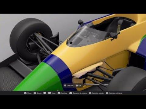 Benetton B191 Nelson Piquet 91'