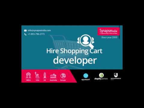 Hire Shopping Cart developer– SynapseIndia