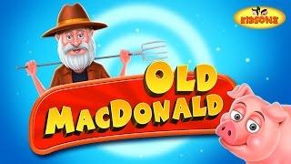 Old MacDonald Had A Farm EIEIO Nursery Rhyme with Lyrics - KidsOne