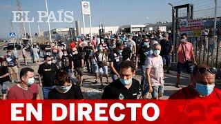 DIRECTO | PROTESTA por el CIERRE de NISSAN en BARCELONA