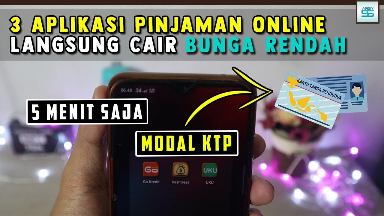 3 Aplikasi Pinjaman Online Langsung Cair Hanya Gunakan KTP ...