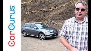 2017 Volkswagen Golf Alltrack   CarGurus Test Drive Review