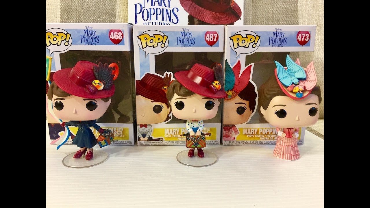 1Mary Poppins Returns Mary Poppins with Umbrella Pop Viny