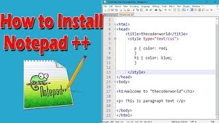 Gambar cover How to Download and Install Notepad++ on Windows 10
