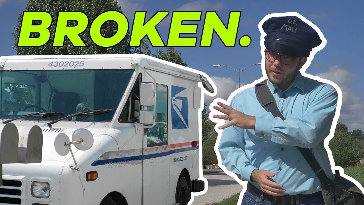 Postal Delivery Trucks Stink  Let's Redesign Them