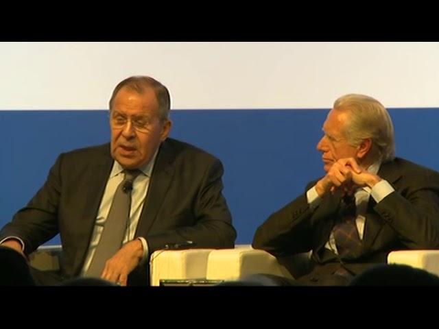 """Выступление С.Лаврова на Третьей международной конференции """"Средиземноморье: римский диалог"""""""