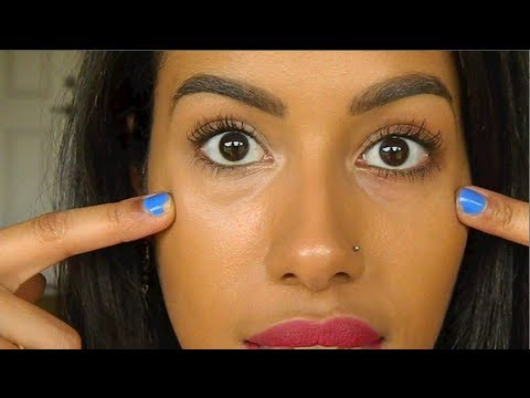 How To Conceal Dark Under Eye Circles Youtube
