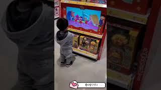 [행동발달기록D+942]콩콩이와 크레용팝 댄스, 장난감가게에서