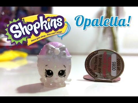 Ultra Rare Shopkins Opaletta #0085 of 1000 Found in Gemma Stone Special Edition