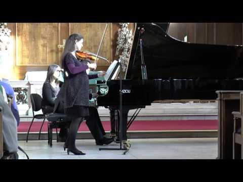 Haydn: Sonata for Violin and Piano in G major, Hob. XV/32 - II